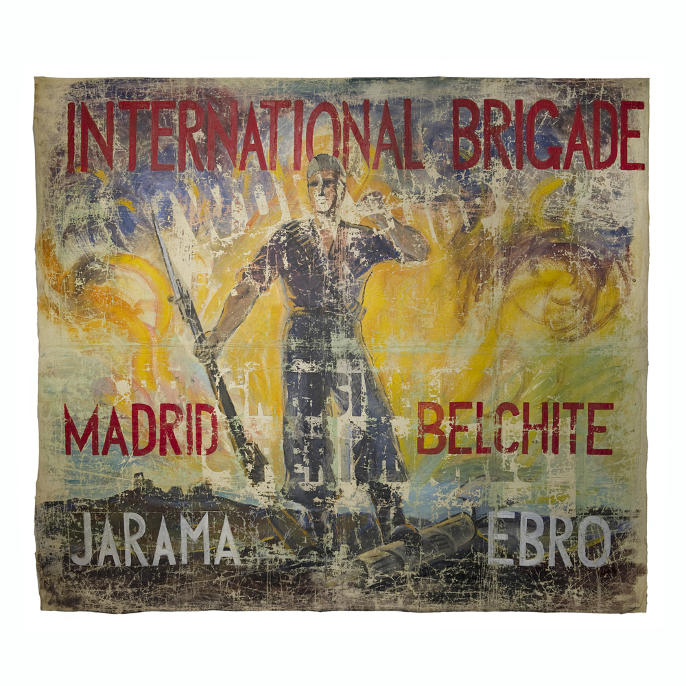 Spanish Civil War banner
